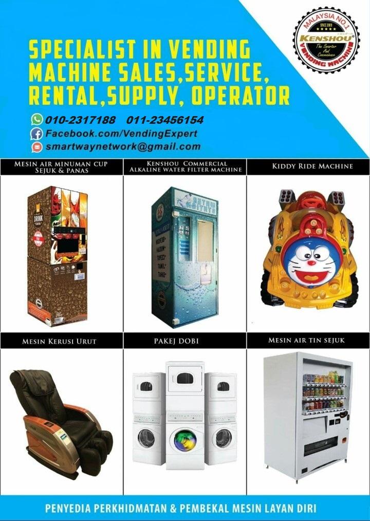 vending machine @ mesin layan diri kenshou
