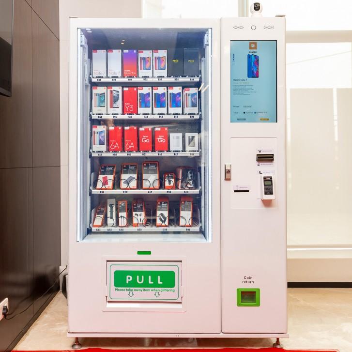 vending machine mi