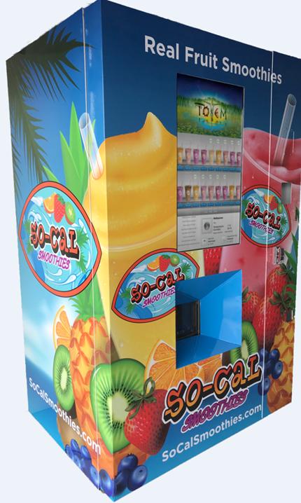 vending machine @ mesin layan diri smoothie