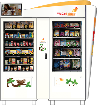 Vending Machine @ mesin layan diri Baby Care