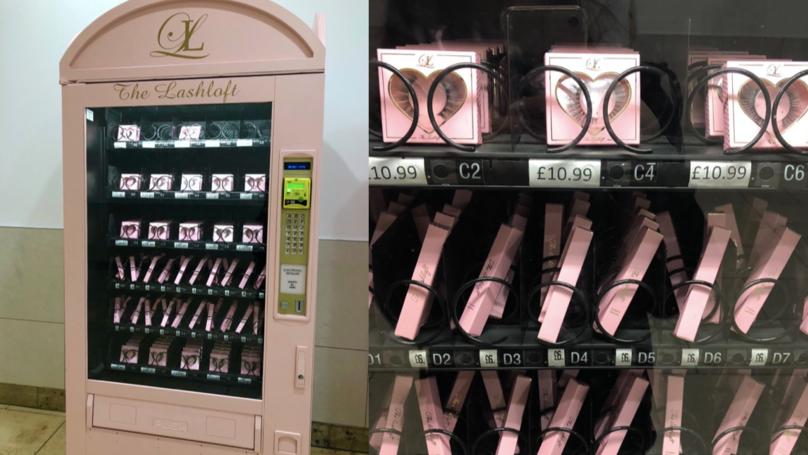 Vending Machine @ mesin layan diri eyelash