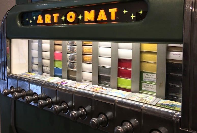 vending machine @ mesin layan diri art-o-mat